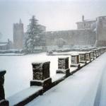 Žlinja i Kaštel pod snijegom